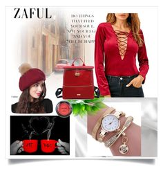 """Fashion Soul /Zaful 28"" by rose-99 ❤ liked on Polyvore featuring NYX"