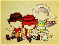 toy story: woody, jessie & buzz