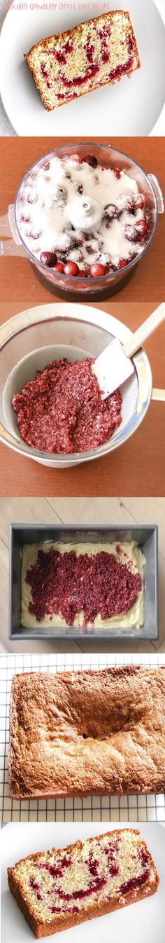 Delicious #Cranberry Cake that you must try.  by @Matt Valk Chuah Dessert Lover.
