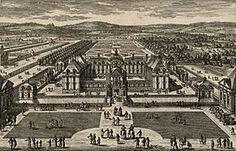 Château de Montceaux au 17°s- Gabrielle d'Estrées reçoit d'Henri IV les titres de marquise de Montceaux puis de duchesse de Beaufort. Au château de Montceaux (Montceaux-les Meaux, Seine et Marne), elle construit de nouveaux bâtiments, notamment des 4 pavillons d'angle.