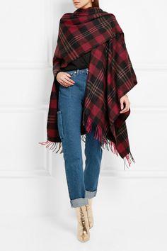 6d6c8a821365 Balenciaga   Tartan cashmere and wool-blend scarf   NET-A-PORTER.