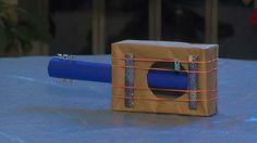 Basteln mit Kindern karton pappe gitarre spielzeug