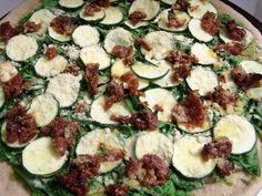 easy vegan veggie pizza