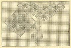 Скатерть 1 - схема. Э.Критеску 'Художественное вязание спицами'