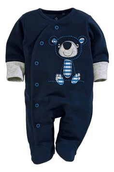 Buy Blue Bear Sleepsuits Three Pack (0mth-2yrs) from the Next UK online shop