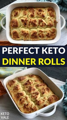 Keto Dinner Rolls Easy and Delicious Low Carb Recipe via @ketovale