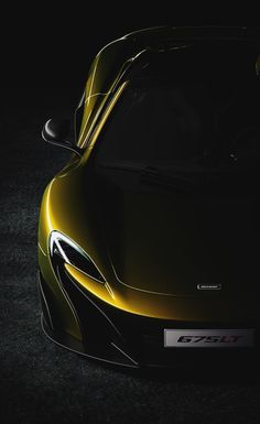 The McLaren was unveiled as a concept car at the Paris Motor Show in 2012 and went into production in The car has a limited production run of only 375 units Automotive Photography, Car Photography, Windows Mobile, Supercars, Mclaren 675lt, Automobile, Mclaren Cars, Most Expensive Car, Car In The World