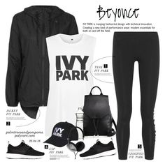 """""""Slay All Day: Style Beyonce's Ivy Park!"""" by palmtreesandpompoms ❤ liked on Polyvore featuring Ivy Park, Topshop, rag & bone, NIKE, Dot & Bo, Frends and Beyonce"""