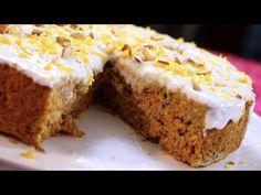 PASTEL DE ZANAHORIA / MANOS A LA OBRA - YouTube Comidas Fitness, Pan Dulce, Carrot Cake, Banana Bread, Carrots, Low Carb, Cooking Recipes, Pie, Keto