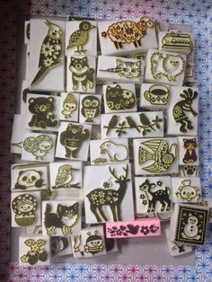 More of Kotori stamps. Gorgeous! inspiration only