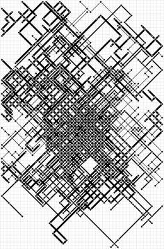 the puddle builder 06 Line Patterns, Graphic Patterns, Textures Patterns, Fabric Patterns, Graphic Design, Pattern Art, Pattern Design, Generative Art, Monochrom