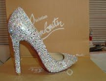 Bridal Shoes : wedding C Hristian L Ouboutin Bridal Crystal High Heel Shoes Pumps, Pump Shoes, Shoes Heels, Christian Louboutin, Louboutin Shoes, Bridal Shoes, Wedding Shoes, Shoe Sites, Crystal Shoes