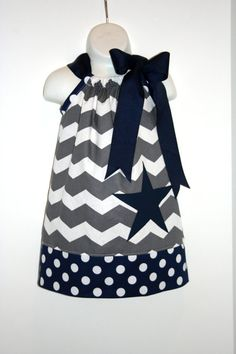 Cowboys football pillowcase dress by morningblossoms on Etsy