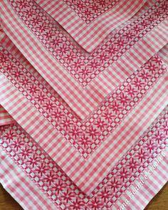 Chicken Scratch Patterns, Chicken Scratch Embroidery, Modern Cross Stitch, Cross Stitch Patterns, Quilt Patterns, Crafts For Girls, Arts And Crafts, Embroidery Stitches, Hand Embroidery