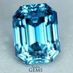 4.41ct Blue Zircon MJ6581 $845
