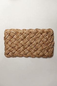 Anthropologie Hand-Plaited Doormat on shopstyle.com