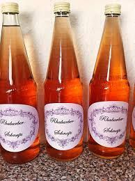 Rhubarb liqueur - recipe with picture - Picture result for rabarber liqueur - Sweet Tea Recipes, Iced Tea Recipes, Rhubarb Liqueur Recipes, Afternoon Tea Recipes, Smoothie Drinks, Hot Sauce Bottles, Drinking Tea, Food Pictures, Food And Drink