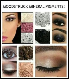 Moonstruck mineral pigment...beautiful shades for beautiful eyes... Www.youniqueproducts.com/claudiazunigachantley