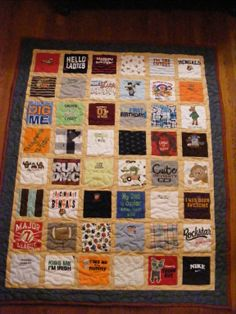 Chase's Baby Clothes Quilt