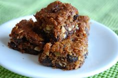 Almond Butter Breakfast / Energy Bars;
