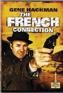 "**DVD FRENCH CONNECT** New York City detectives ""Popeye"" Doyle and Buddy Russo hope to break a narcotics smuggling ring and ultimately uncover The French Connection. But when one of the criminals tries to kill Doyle, he begins a deadly pursuit that takes him far outside the city limits. (DVD case)"