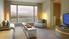 Cool Corner Suite Living Room