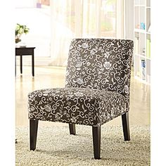 @Overstock - An eye-catching floral print adorns this hardwood lounge chair. This elegant furniture piece features a contemporary look that will complement any decor.http://www.overstock.com/Home-Garden/Decor-Floral-print-Lounge-Chair/4862318/product.html?CID=214117 $102.99