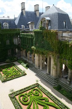 THE MOST PARISIAN OF THE FRENCH MUSEUMS  Jardins du Musée Carnavalet © Musée Carnavalet – C. Iregui