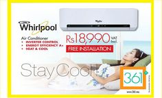 361: Whirlpool Air Conditioner - Stay Cool !