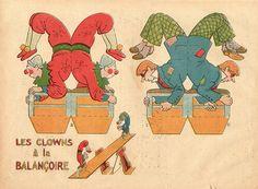 clowns by pilllpat (agence eureka), via Flickr
