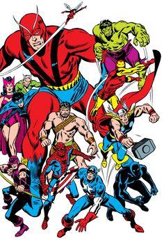 Avengers by John Buscema