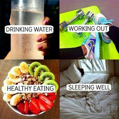 How to stay in shape!