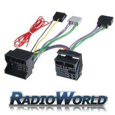 From 9.57 Rws-976 Vw / Audi / Seat / Skoda / Mercedes / Bmw Parrot / Bluetooth Iso Adaptor Lead