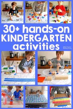 30+ Kindergarten Activities for Hands-On Learning