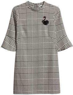 H&M Short Dress grey swan