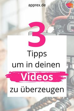 Du willst für deinen Onlinekurs Videos drehen? Dann beherzige diese Tipps: 1. Am Drehtag deiner Videos oder bei einer wichtigen online Rede, solltest du beim Sprechen vor der Kamera auf diverse Lebensmittel und Getränke verzichten - dazu gehören auch Kaffee & Süßigkeiten 2. Blicke immer direkt in die Kamera, wenn du sprichst. 3. Stelle dir beim Sprechen vor der Kamera deine Kunden vor!Viele weitere hilfreiche Tipps bekommst du in diesem Beitrag! Affiliate Marketing, Online Marketing, Inspirations Boards, Online Business, Calm, Videos, Youtube, Hacks, Find Music