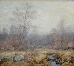 Old Lyme in Winter - Wilson Irvine - The Athenaeum