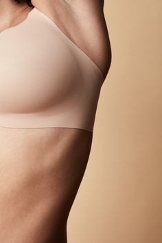 Bonded construction confidently supports your unique shape without uncomfortable wires. Featured: our comfortable, versatile, wire-free 8-in-1 Evolution Bra in Beige