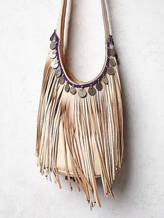 Simone Camille & Free People Evermore Fringe Hobo at Free People Clothing Boutique