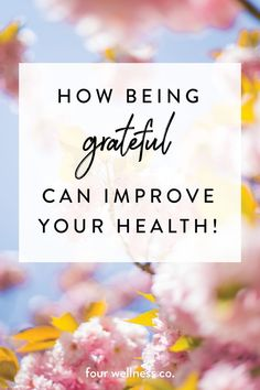 How being grateful can improve your health // The physical & mental health benefits of practicing gratitude + 5 ways to find more gratitude in your daily life // Wellness tips for healthy & happy living at fourwellness.co/blog #gratitude #wellness #happiness #healthyliving Love Quotes For Her, Cute Love Quotes, Deep Relationship Quotes, Secret Crush Quotes, Mental Health Benefits, Coconut Health Benefits, Attitude Of Gratitude, Practice Gratitude, Inspirational Artwork