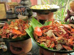 filipino food: alimasag