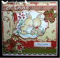 LOTV - Bunnies In Love by DT Anne - http://www.liliofthevalley.co.uk/acatalog/Stamp_-_Bunnies_-_In_Love.html
