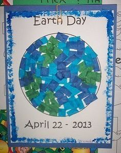 Earth Day Collage (from childcareland.com)