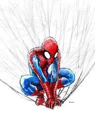 Resultado de imagen para spiderman watercolors