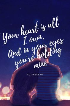 The lyrics to perfect by ed sheeran really are perfect perfected sheeran wallpaper stopboris Images