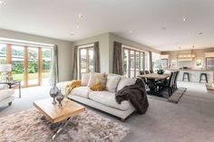 A Contemporary Classic Walk In Robe, Island Bench, Contemporary Classic, Gas Fires, Creature Comforts, Towel Rail, Outdoor Settings, Double Bedroom, Sitting Area