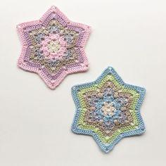 ⭐️Crocheting stars ⭐️ #crochet_millan  Design