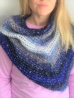 Waterfall Blue Cowl