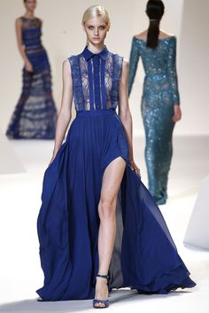 Elie Saab Spring 2013 Collection   Style Pantry