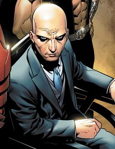 Professor X: He's the bald dude running the X-men. Also, he can read your mind, so stop laughing at his complexion.